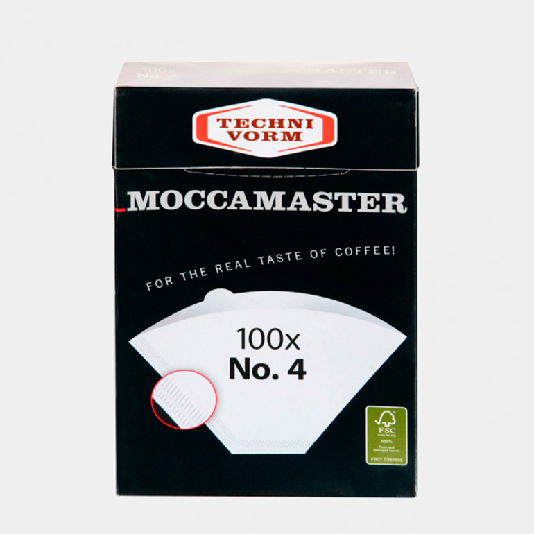 Filtres cafetière Moccamaster pour Clever Dripper